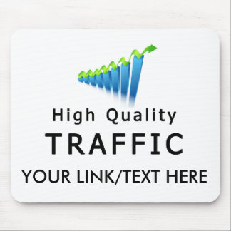 Website Traffic Mouse Pad