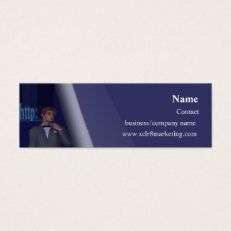 WebSpyGuy Business Card Template Narrow