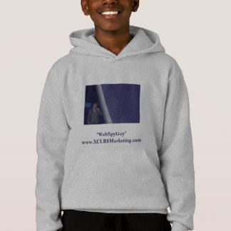 WebSpyGuy Kids Hooded Sweatshirt