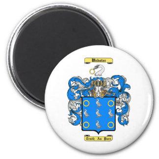Webster 2 Inch Round Magnet
