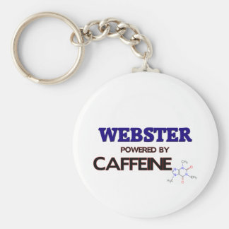 Webster accionó por el cafeína llaveros