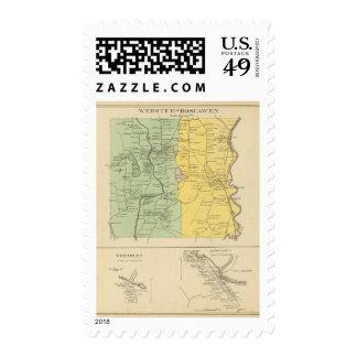 Webster, Boscawen Postage Stamps