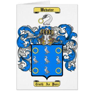 Webster Card