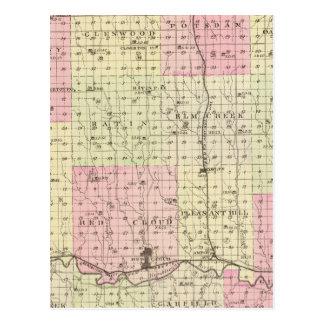 Webster County, Nebraska Postcard