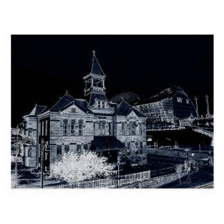Webster House and Kauffman Center Postcard