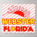Webster, la Florida Poster