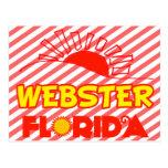 Webster, la Florida Tarjetas Postales