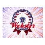 Webster, mA Postales