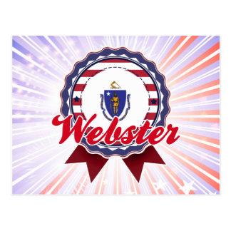 Webster, MA Postcard