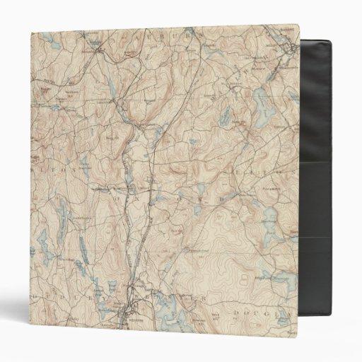 """Webster, Massachusetts Carpeta 1 1/2"""""""