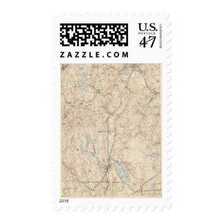 Webster, Massachusetts Timbres Postales