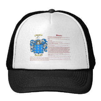 Webster (meaning) trucker hats