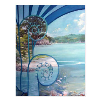 Webster Painting by Lynda Vugler Postcard