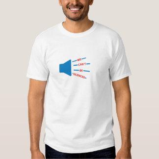 WeCantBeSilenced2.jpg Tee Shirt