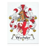 Wechsler Family Crest Invitation