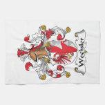 Wechsler Family Crest Kitchen Towels