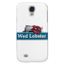 Wed Lobster Samsung Galaxy S4 Cover