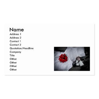 WedBallChainR091810SepiaHor, nombre, dirección 1, Tarjetas De Visita