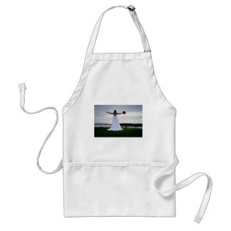 WedCliffR091810Hor Adult Apron