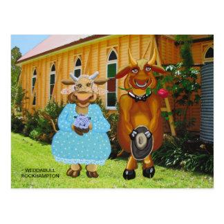 Weddabull Postcard