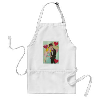 Wedded Bliss Adult Apron