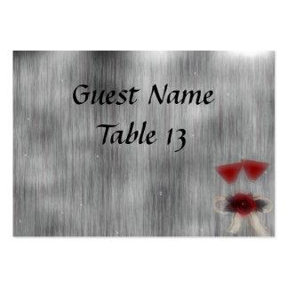 Wedded Bliss Fantasy Wedding Table Card Business Card Template