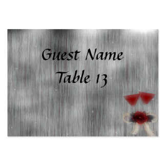 Wedded Bliss Fantasy Wedding Table Card Large Business Card