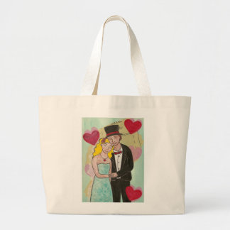 Wedded Bliss Large Tote Bag