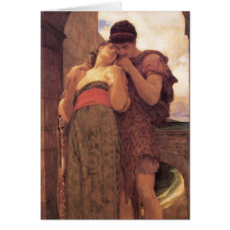Wedded fine art painting greeting card