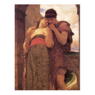 Wedded fine art painting post cards