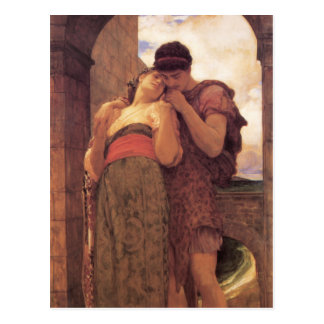Wedded in detail - Lord Frederick Leighton Postcard