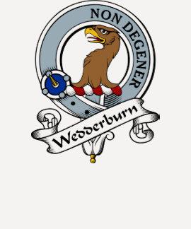 Wedderburn Clan Badge T Shirt