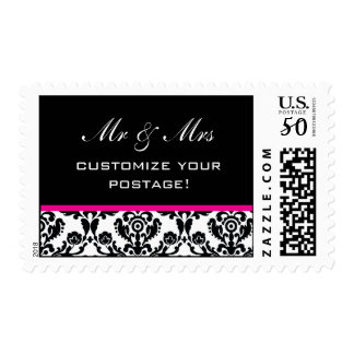 wedding 001 postage pink