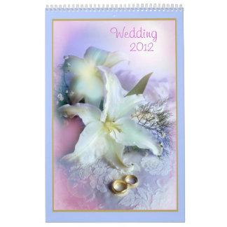 Wedding 2012 calendar