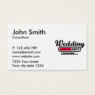 Wedding 2017 business card