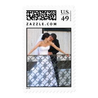 wedding 2 postage stamps