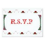 wedding 3.5x5 paper invitation card