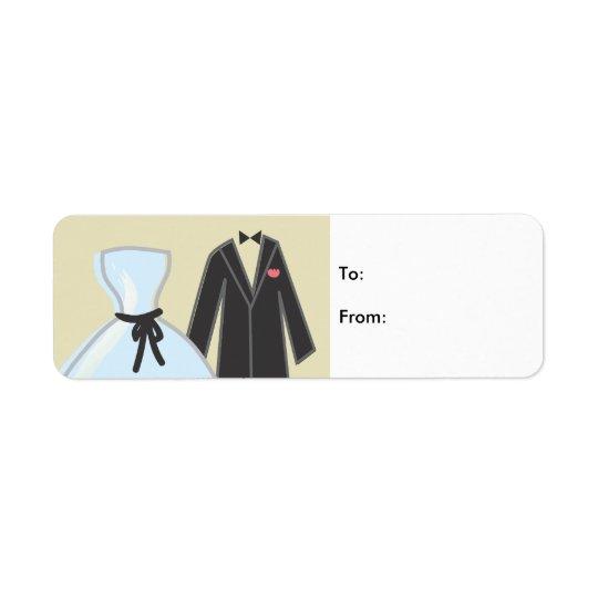 Wedding 4 label