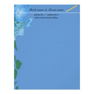 wedding accessary for bride and groom letterhead