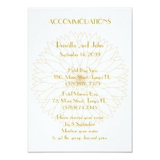 Wedding Accommodations,great Gatsby,Stylized Monet Card