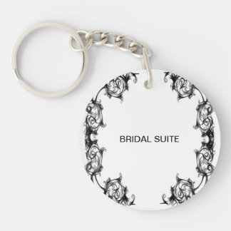 wedding Acrylic keychain