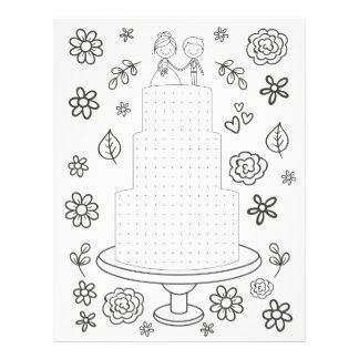 Wedding Activity Dot Game Coloring Page