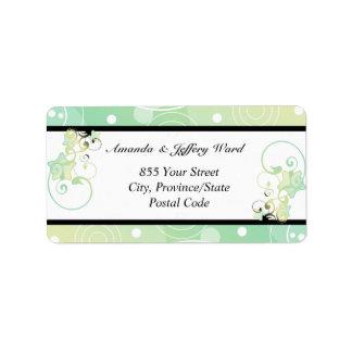 Wedding Address Label | Bubble Star Fairy Tale