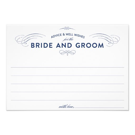 wedding advice cards custom invites zazzle