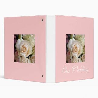 Wedding Album Design by Leslie Harlow 3 Ring Binder