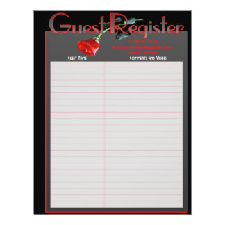 Wedding Album Guestbook Pages Flyer