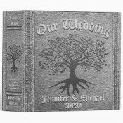 Wedding Album Rustic Silver Binder (<em>$24.15</em>)