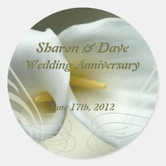 Wedding and Celebration Classic Round Sticker