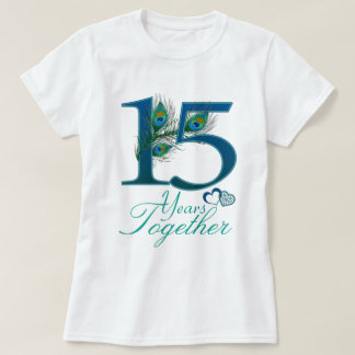 wedding anniversary / 15 / 15th / number 15 T-Shirt