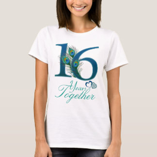 wedding anniversary / 16 / 16th / number 16 T-Shirt